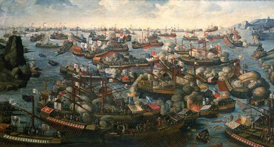 The Battle of Lepanto, October 7, 1571