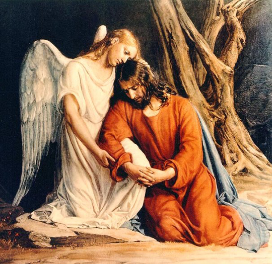 Agony in the Garden by Carl Heinrich Bloch