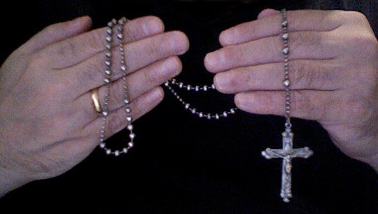 Aunt Lupe's Silver Rosary