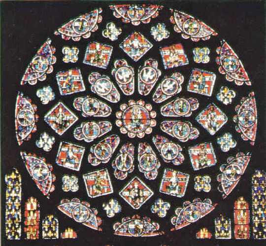 Great Rose Window, Cathedral of Our Lady of Chartres