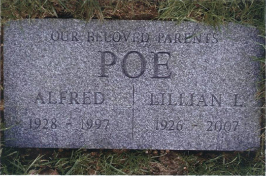 Photo of Mama's Tombstone